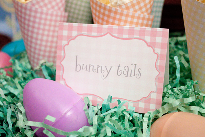 {inspiration party} a springin' gingham easter