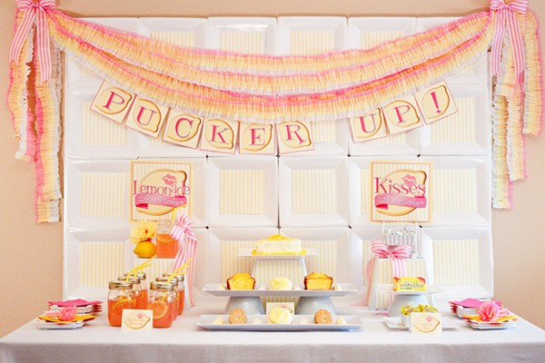 {inspiration party} pucker up for your sweetie!