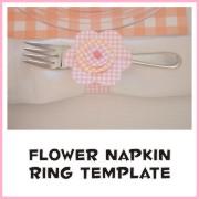 Διακοσμητικό δαχτυλίδι χαρτοπετσέτας για τραπέζι