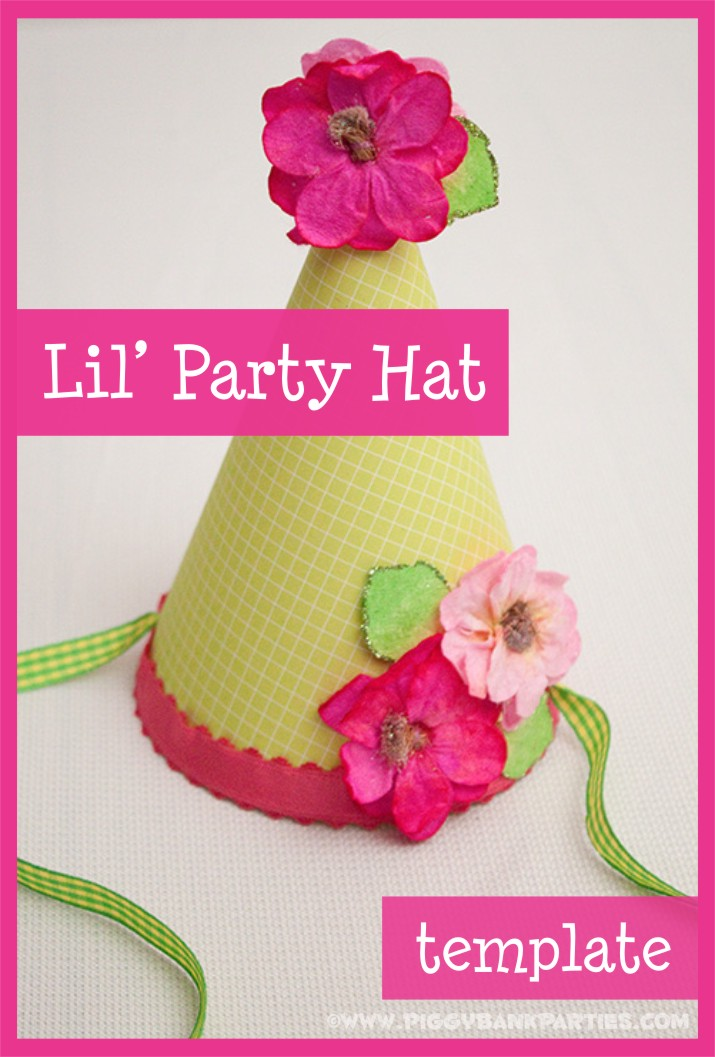 {tutorial} lil' party hat