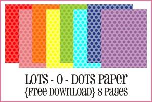 Lots-O-Dots Paper