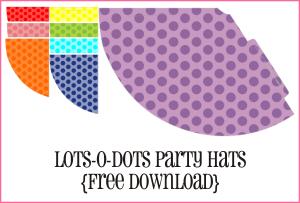 Lots-O-Dots Party Hats