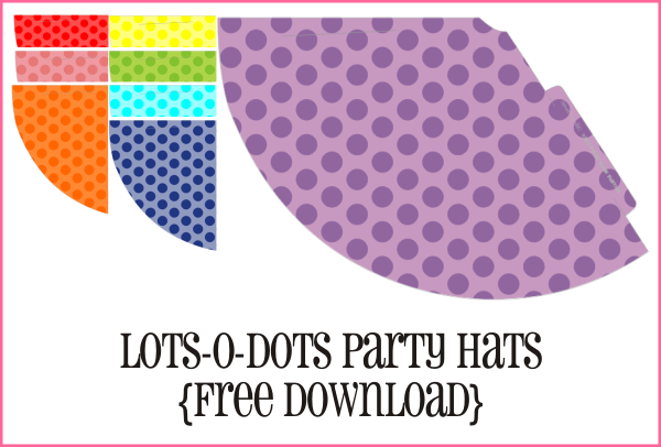 Lots-O-Dots Party Hats