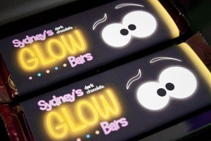 Glow in the Dark Candy Bar Wrappers