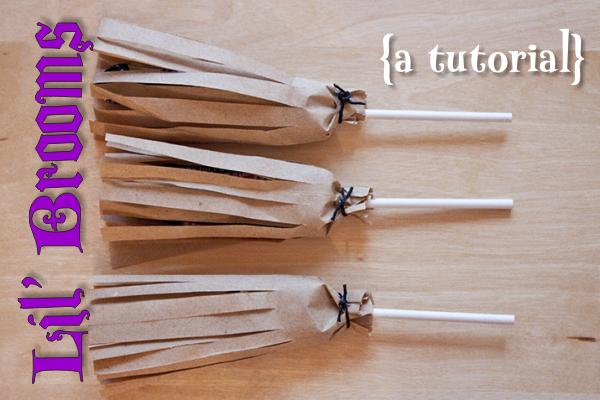 {tutorial} lil' brooms