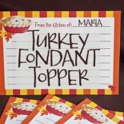 TurkeyFondantTopper