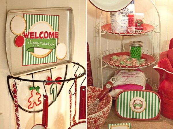 Fabulous inspiration} mrs. claus' kitchen - Piggy Bank Parties Blog PW07