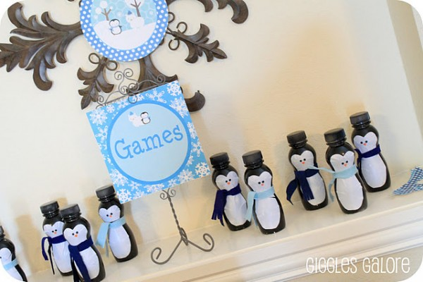 {wild wednesday} penguin bowling