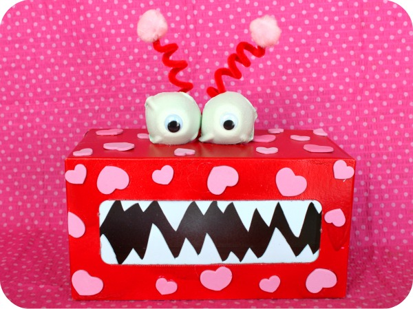 {rootin' tutin' thursday} valentine's monster