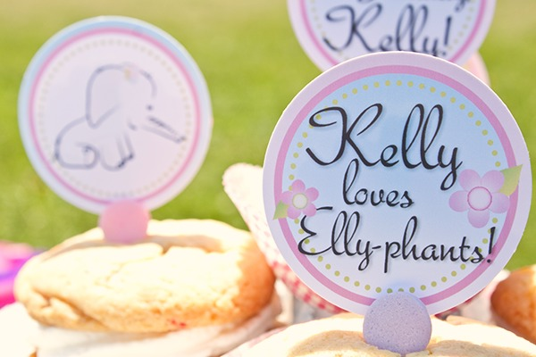 {silly sunday} picnicking with elephants