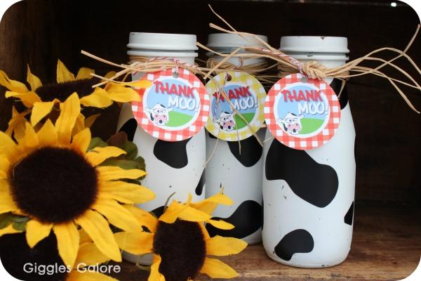 {challenge tutorial} moo milk bottles