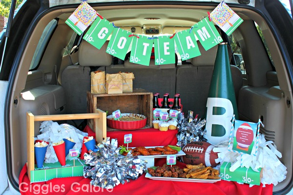 {tipster tuesday} game day tailgate party