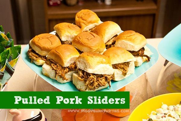 {sweet-n-savory saturday} pulled pork sliders