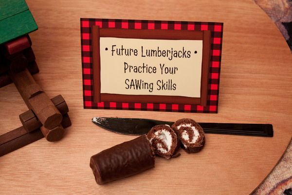 {wild wednesday} what do lumberjacks do?