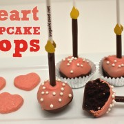 SugarKissed Heart Cupcake Pops