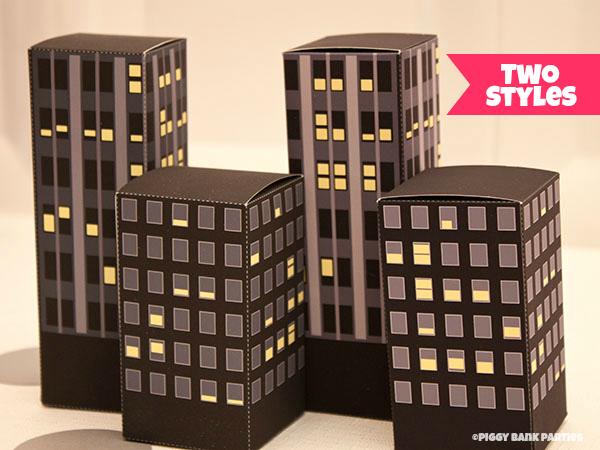 {the market} city buildings favor boxes