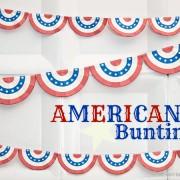 Piggy Bank Parties Americana Bunting 1