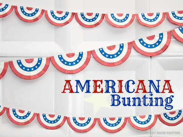 {free download} americana bunting