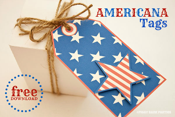 {free download} americana tags
