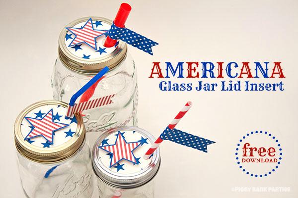 {free download} americana glass jar lid insert