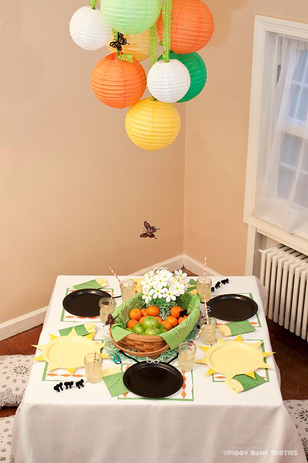 Piggy Bank Parties Sherbet-n-Sunshine Picnic 11