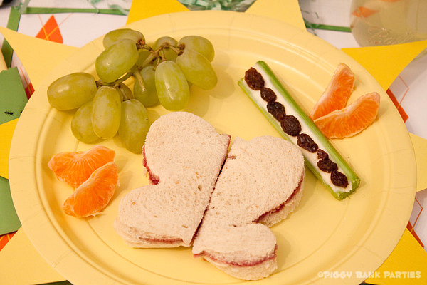 Piggy Bank Parties Sherbet-n-Sunshine Picnic 16C