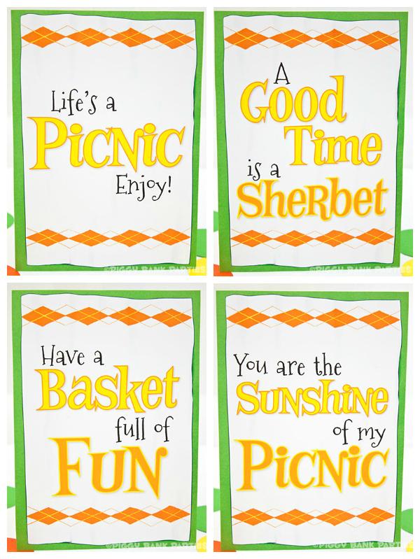 PiggyBankParties Sherbet-n-SunshinePartySign1