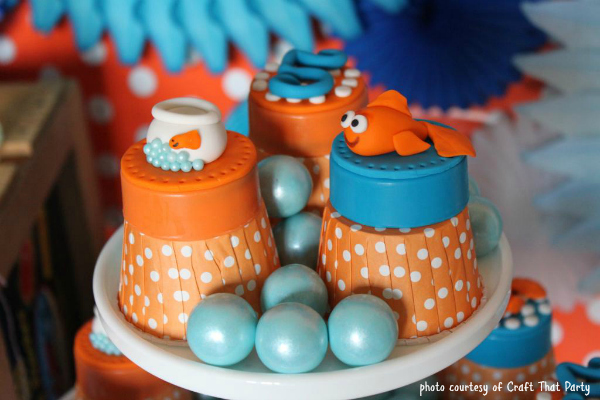 Craft That Party O-Fish-Ally Five Goldfish Party