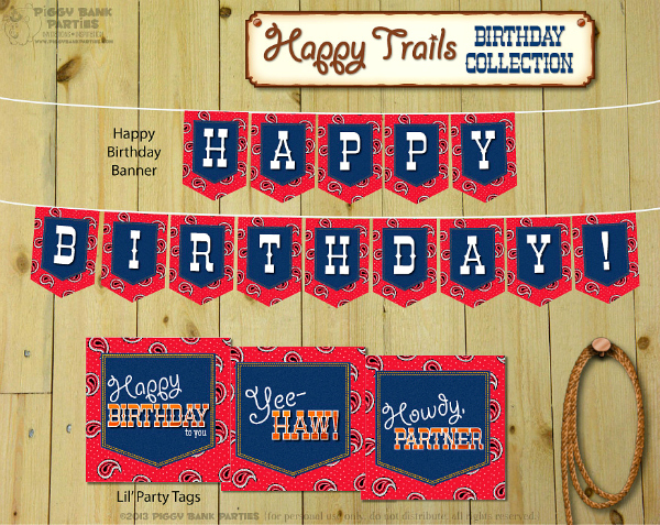 Happy Trails Collection - Birthday 1