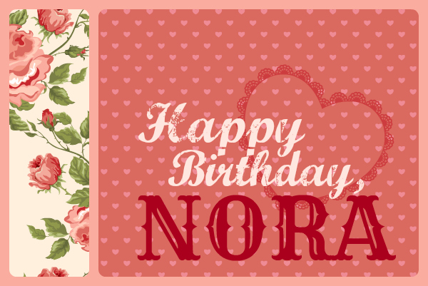 HappyBirthdayNora2013