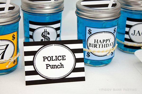 Piggy Bank Parties Cops and Robbers Collection32