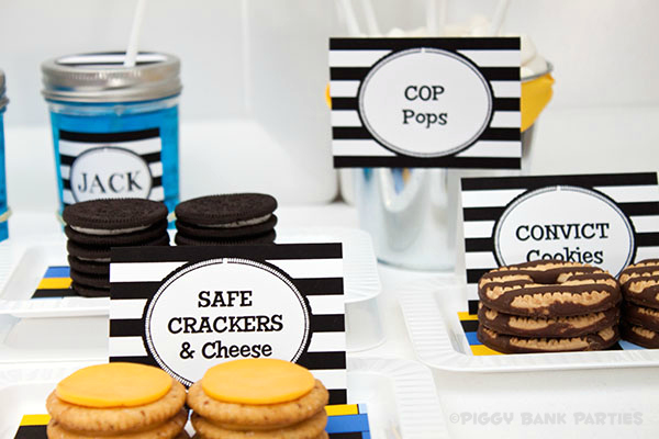 Piggy Bank Parties Cops and Robbers Collection35