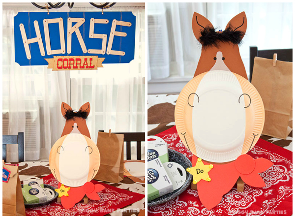 Sponsored happy trails activity make your own horse for Create your own piggy bank