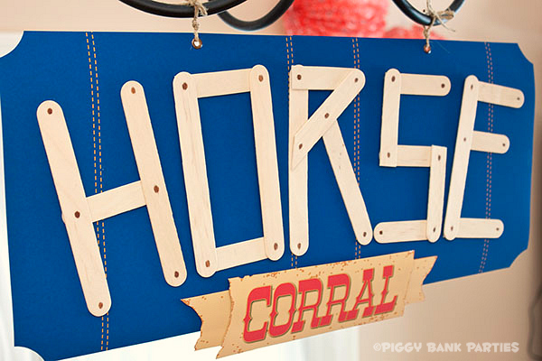 {sponsored} happy trails activity :: make your own horse