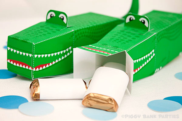 Piggy Bank Parties Alligator Favor Box4