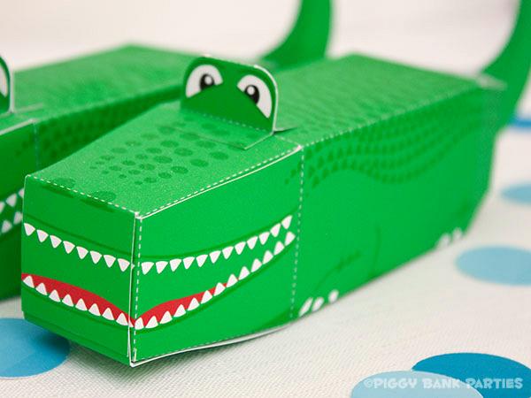 Piggy Bank Parties Alligator Favor Box6