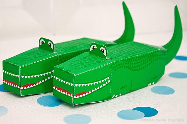 Piggy Bank Parties Alligator Favor Box7