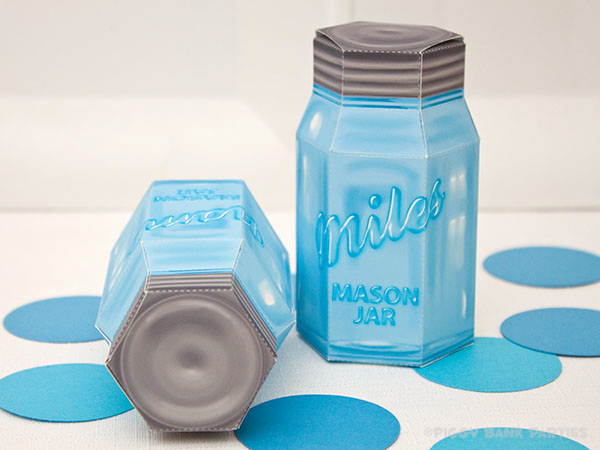 Piggy Bank Parties Mason Jar Favor Box4