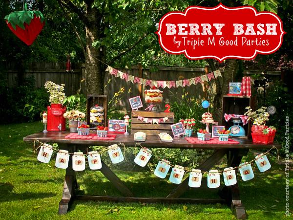 Triple M Good Parties Berry Bash