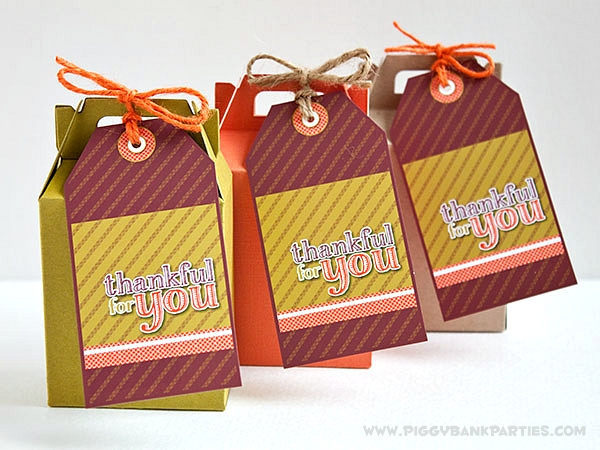 Piggy Bank Parties Thankful For You Tags2