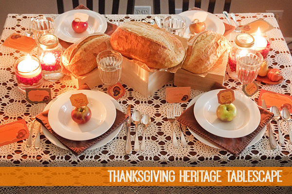 Thanksgiving Heritage Tablescape by Piggy Bank Parties