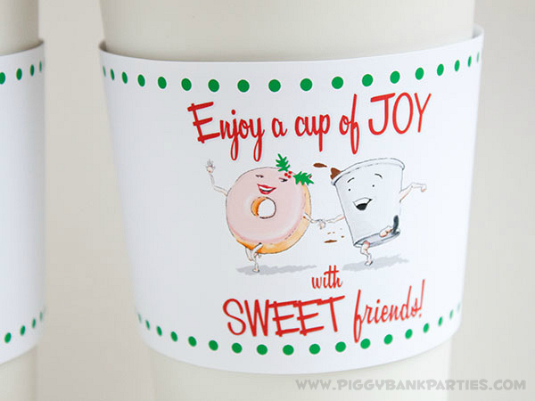 Piggy Bank Parties Cup of Joy Cup Sleeve 3