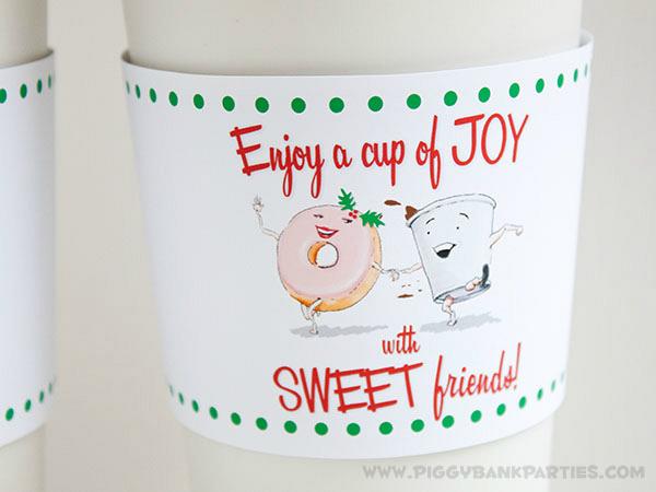 Piggy Bank Parties Cup of Joy Cup Sleeve 3