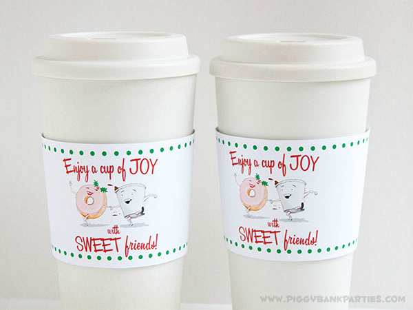 Piggy Bank Parties Cup of Joy Cup Sleeve 6