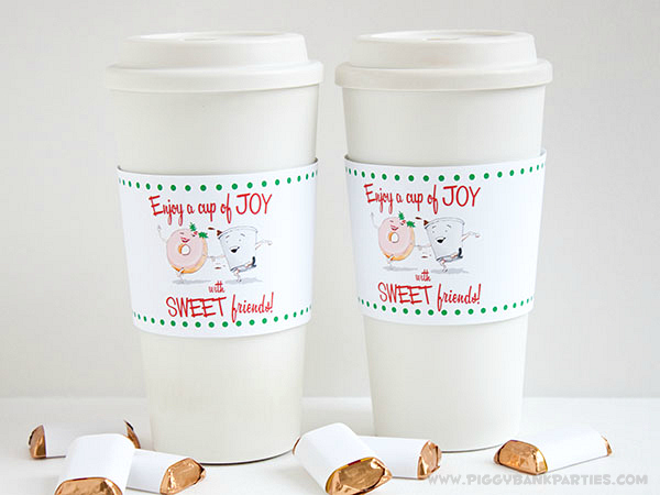Piggy Bank Parties Cup of Joy Cup Sleeve 7