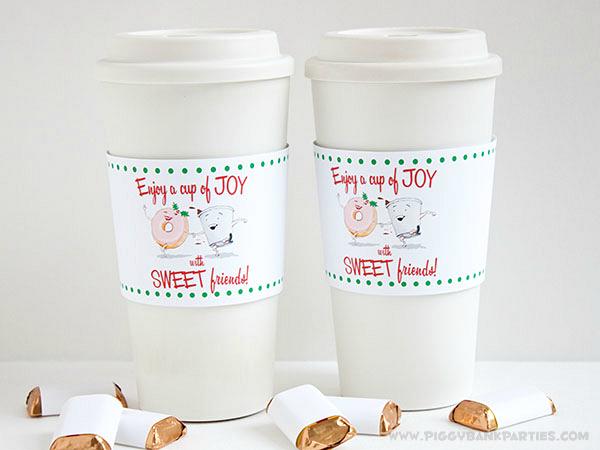 Piggy Bank Parties Cup of Joy Cup Sleeve 7