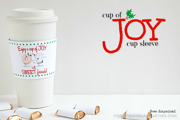 Piggy Bank Parties Cup of Joy Cup Sleeve 9