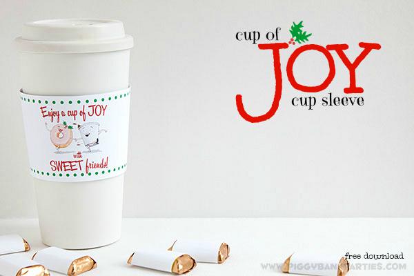 Piggy Bank Parties Cup of Joy Cup Sleeve 9