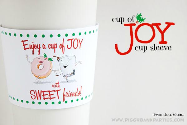 Piggy Bank Parties Cup of Joy Cup Sleeve