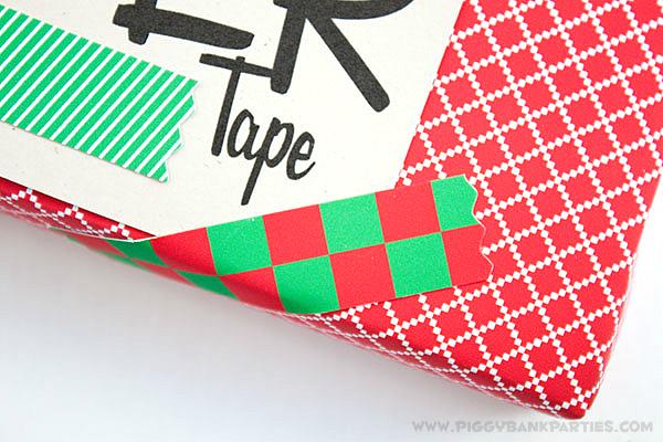 Piggy Bank Parties DIY Christmas Paper Tape3